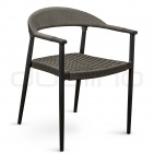 Patio & outdoor wicker, rattan dining chairs