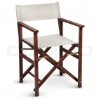 Patio & outdoor wooden chairs, director chairs