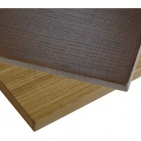 Veneered restaurant table tops