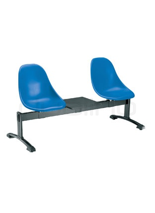 Bench with plastic seat (Technopolymer) in different colors - G HARMONY TV4P200