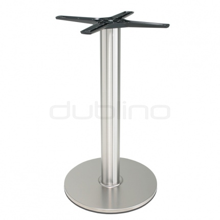 Stainless steel table base - P 430 INOX
