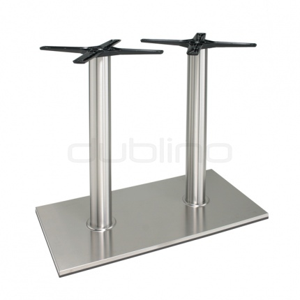 Stainless steel table base - P 405 INOX