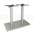 Outdoor dining table bases, table legs - P 405 INOX