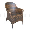 Patio & outdoor wicker, rattan dining chairs - R/Kendal/P