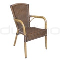 Patio & outdoor wicker, rattan dining chairs - R/Timor