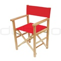 Patio & outdoor wooden chairs, director chairs - PA CAPRI