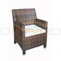 Patio & outdoor wicker, rattan dining chairs - R/SEMARANG/P