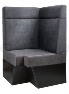 Box with your optional choice of stain colors, fabrics and artificial leather - Dublino System/1105/S