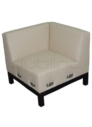 Box with your optional choice of stain colors, fabrics and artificial leather - Dublino System/40