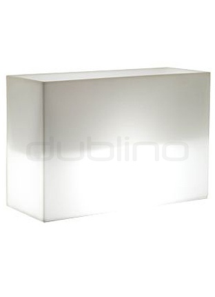 PEDRALI KADO outdoor lighting, flower pot - Pedrali Kado/Lightning Box