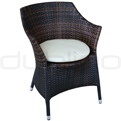 Patio & outdoor wicker, rattan dining chairs - R/Wings/C