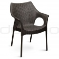 Patio & outdoor plastic chairs - BC 2277 OLI