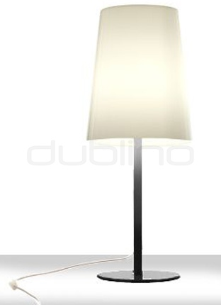 Design plastic table lamp in different colors - PEDRALI L001TA/A