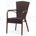Patio & outdoor wicker, rattan dining chairs - GR/958