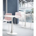 WHITE COMPACT TABLE HPL TOP #7