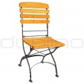 Patio & outdoor metal chairs - RO FRANCE/BISTRO/CHAIR1