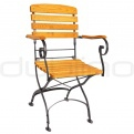 Patio & outdoor metal chairs - RO FRANCE/BISTRO/CHAIR2