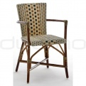Patio & outdoor wicker, rattan dining chairs - CA 508