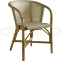 Patio & outdoor wicker, rattan dining chairs - CA 501
