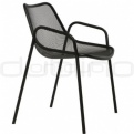 Patio & outdoor metal chairs - E ROUND P
