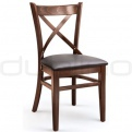 Wooden chairs - XTON 04 UP AMERICAN WALNUT