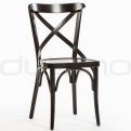Wooden chairs - XTON 05 WENGE