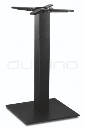 Metal table base in black colour. - P 7088