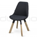 Exclusive design chairs - DL FINE UP BLACK