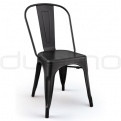 Metal chairs - DL FACTORY BLACK