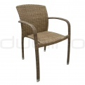 Patio & outdoor wicker, rattan dining chairs - DL MODUS