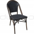 Patio & outdoor wicker, rattan dining chairs - DL PARIS B