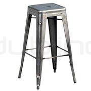 Industrial, xavier, vintage style metal bar stool - DL FACTORY BS GM