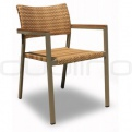 Patio & outdoor wicker, rattan dining chairs - KJ CHAIR 100