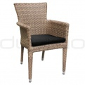 Patio & outdoor wicker, rattan dining chairs - KJ CHAIR 101