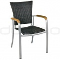 Patio & outdoor wicker, rattan dining chairs - KJ CHAIR 102