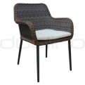 Patio & outdoor wicker, rattan dining chairs - KJ CHAIR 103