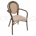 Patio & outdoor wicker, rattan dining chairs - KJ CHAIR 106