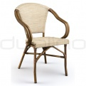 Patio & outdoor wicker, rattan dining chairs - DL STAR C