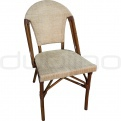 Patio & outdoor wicker, rattan dining chairs - DL PARIS C