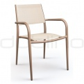 Patio & outdoor wicker, rattan dining chairs - DL GRAZ CHAIR