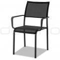 Patio & outdoor wicker, rattan dining chairs - DL WIEN CHAIR