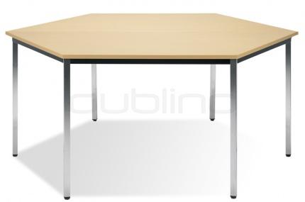 KONF TABLE SIM HEXAGON Hexagon Conference Table - Hexagon conference table