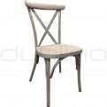 Vintage chair, cross back chair - DL SEVILLA GREY