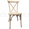 Vintage chair, cross back chair - DL SEVILLA WHITE