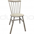 Vintage chair, cross back chair - DL PALMA GREY