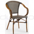 Patio & outdoor wicker, rattan dining chairs - DL STAR MACAO