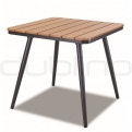 Outdoor table bases, table legs - DL MALAGA TABLE 80 x 80