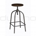 Metal bar stools - DL CURL BS
