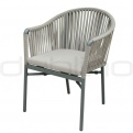 Patio & outdoor wicker, rattan dining chairs - DL MOHITO