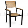Patio & outdoor metal chairs - DL CARACAS